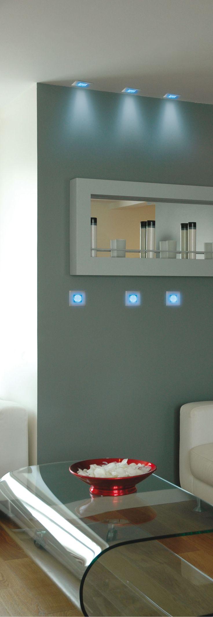 Ajoutez une touche de design à vos intérieurs #LED #salon #table #éclairage #economiedenergie #energie #technologie #eclairage #design #decoration #innovation