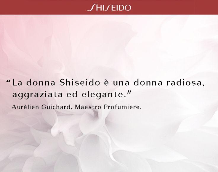 Una fragranza è il modo più delicato per descrivere una donna. #citazione #ShiseidoArte www.shiseido.it
