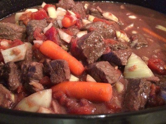 Moose Swiss Steak - Oh so Yummy!