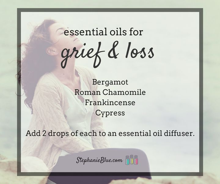 Essential oils for grief and loss.