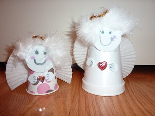 Paper Cup Angels