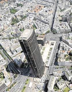 La tour Montparnasse ©Boris Horvat via lesechos.fr