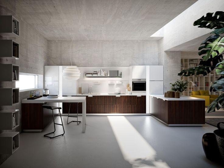 Snaidero Cucine Presenta Lux, la Nuova Cucina Design Firmata Pietro Arosio #snaiderocucine #cucinemoderne #cucineitaliane