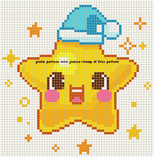 Baby cross stitch. Star X-S.