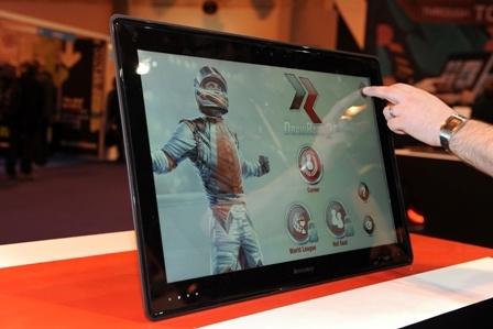 "Lenovo Horizon IdeaCentre 27"" tablet #want"