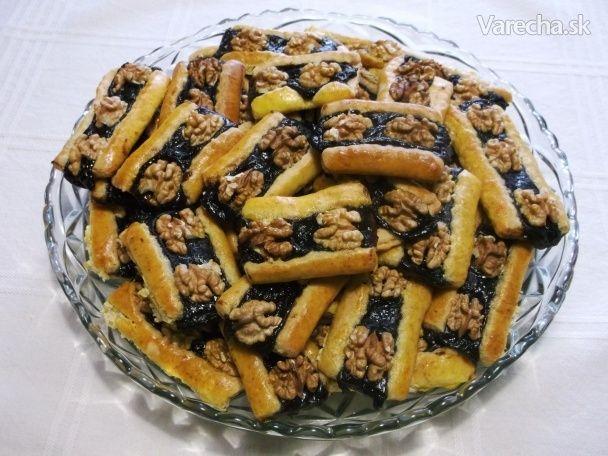 Lekvárovníčky s orechami (fotorecept) - Recept