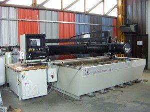 Centru prelucrare/debitare waterjet CNC