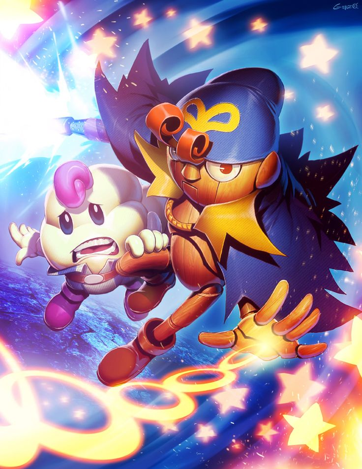 Mario RPG - Geno and Mallow by GENZOMAN | Holy shit, this is bringing back some fond memories...