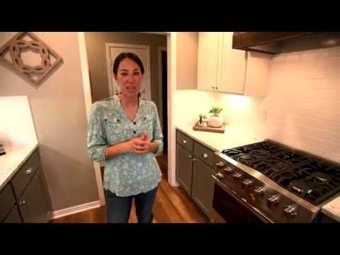 Fixer Upper: Small Space Kitchen Design - YouTube