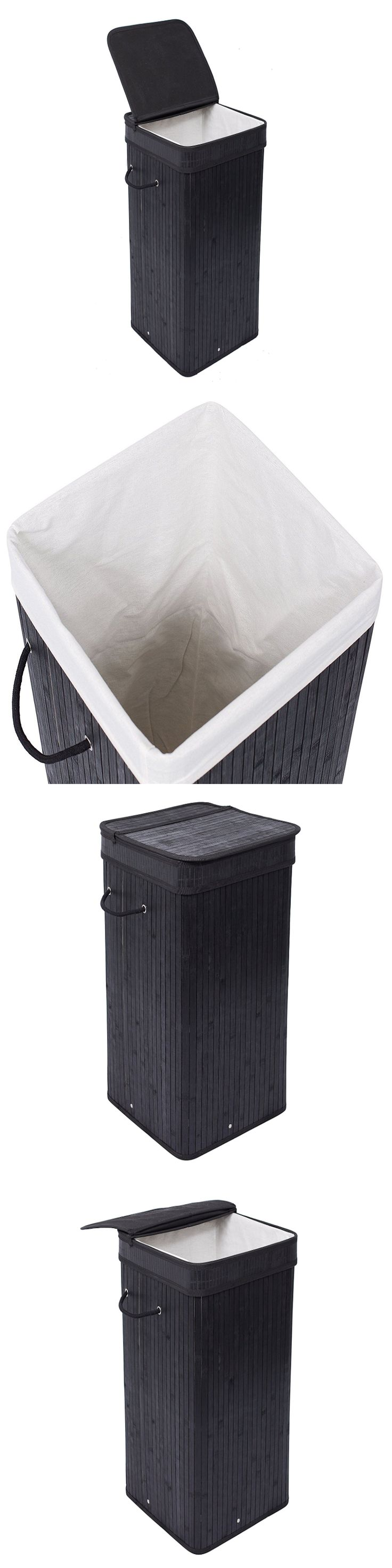 White tilt out clothes storage basket bin bathroom drawer ebay - Hampers 43517 Foldable Laundry Sorter Hamper Clothes Storage Basket Bin Organizer Washing Bag