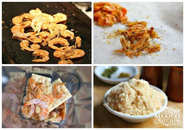 dried shrimp patties