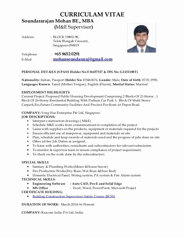Ra Job Description Resume Elegant Mohan M E Supervisor Cv Job Description Office Assistant Job Description Teacher Assistant Jobs
