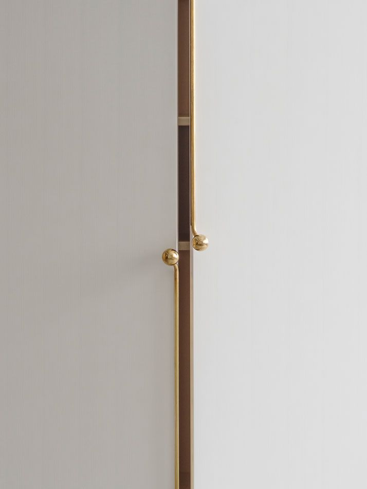 Purse closure cabinet hardware! The GRAND Furniture Series Inspired By Handbag Details | Yatzer