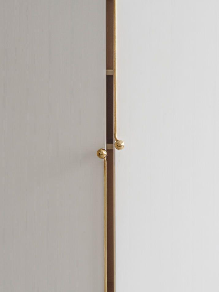 Purse closure cabinet hardware! The GRAND Furniture Series Inspired ByHandbag Details | Yatzer