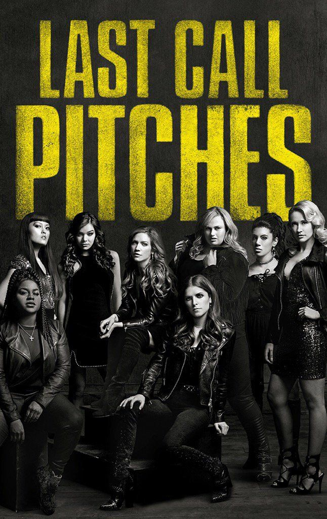 "Pitch Perfect 3    Details  Casting  Photos Release Date  21 December 2017 Directed by  Trish Sie Starring  Anna Kendrick, Rebel Wilson, Brittany Snow Writer  Kay Cannon Composer  — Genres  Comedy Country … Continue reading ""Pitch Perfect 3"""