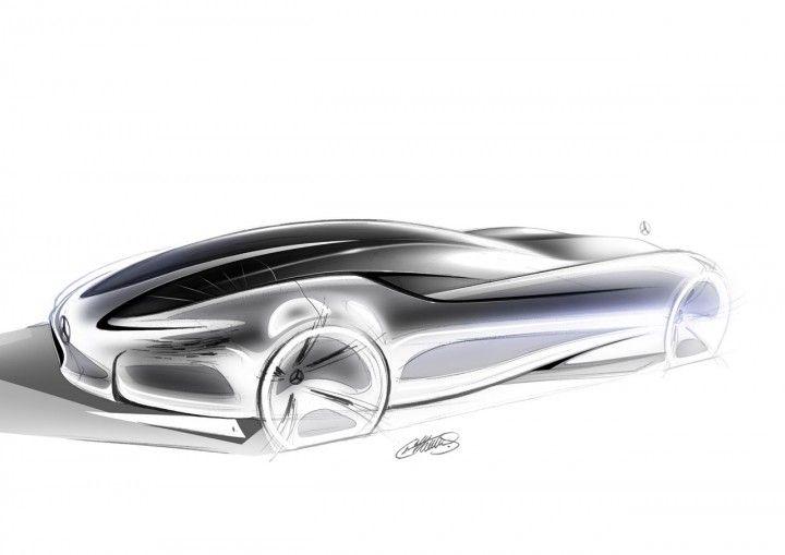 Mercedes-Benz Aria Concept Design Sketch