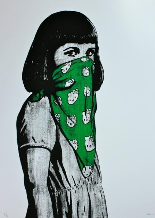 Kitty Riot (Green) by DOLK (2010)