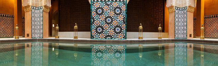 Hammam Al Andalus baths. Granada or Cordoba.