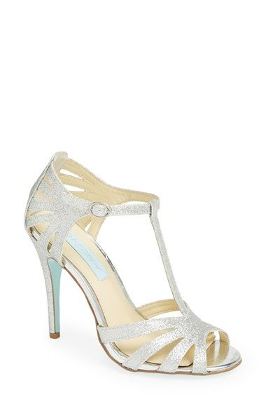 Blue by Betsey Johnson 'Tee' Sandal (Women) available at #Nordstrom