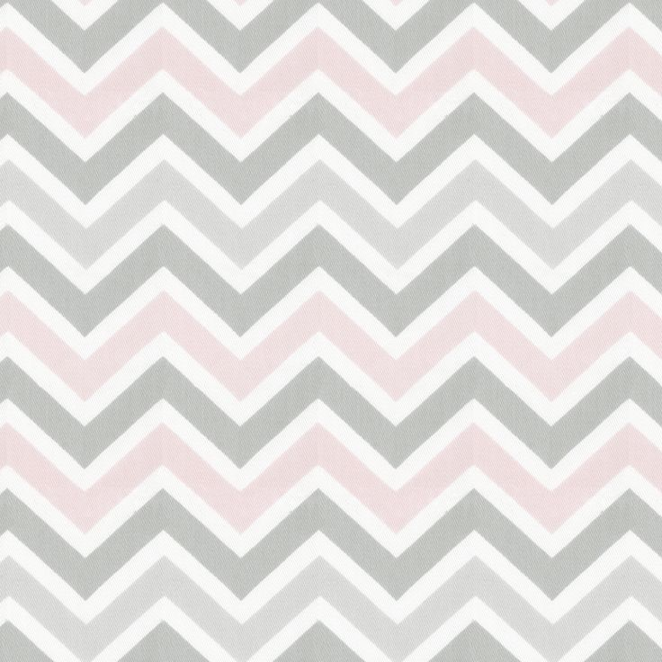 Hoping to add this to our grey elephant nursery...Pink and Gray Chevron Fabric by the Yard | Pink Grey Chevron | Carousel Designs