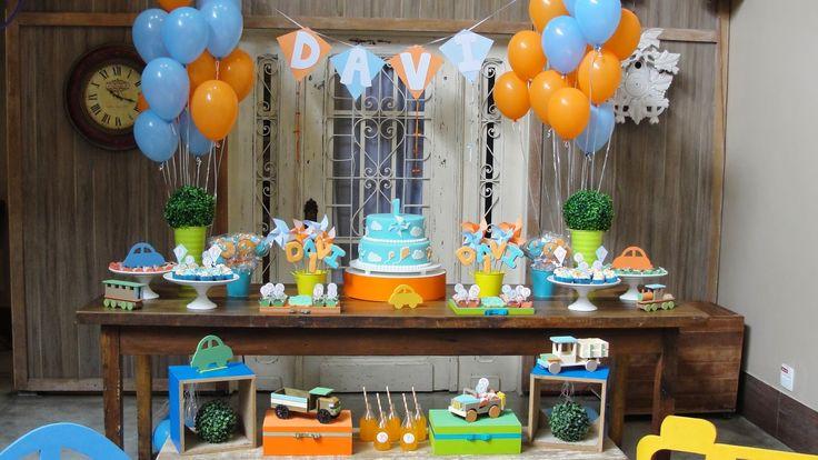 Tema e idéias para aniversário