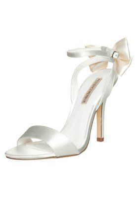 Menbur BELLI - High heeled sandals - ivory for £60.00 (27/10/15) with free delivery at Zalando