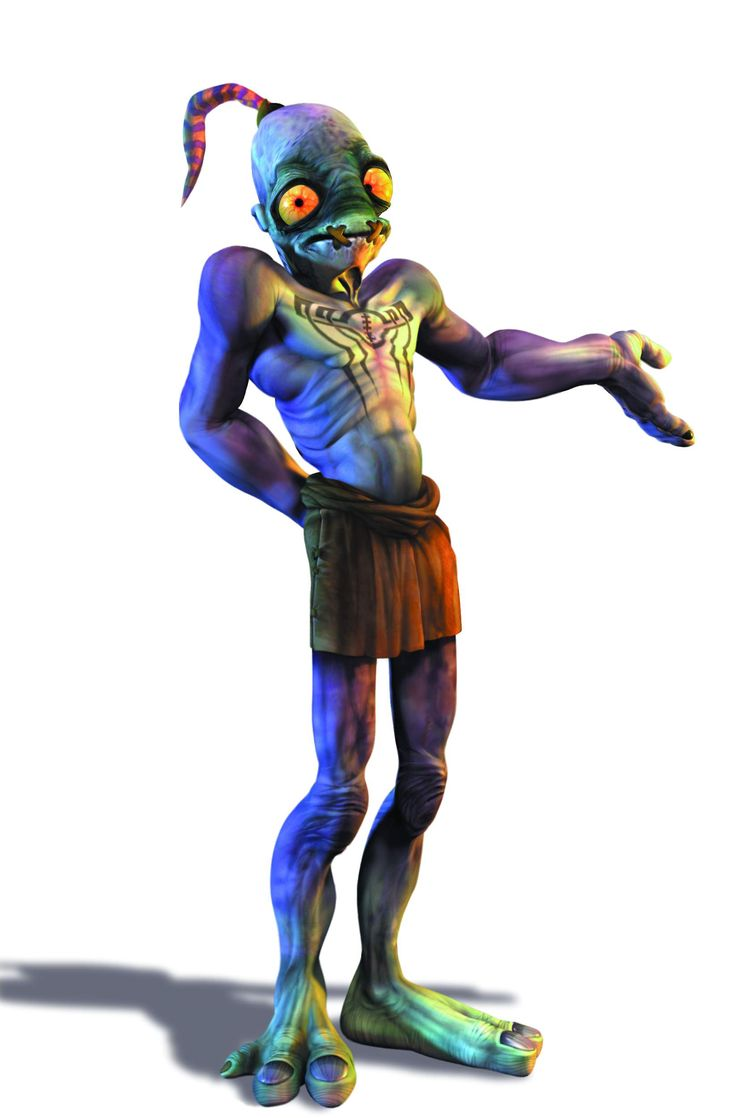 Abe Oddworld- follow me! I loved this game!