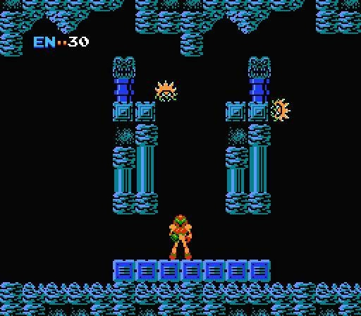 This is where my love for Metroid began, the beginning screen - signed Ben Contreras - Brinstar, mother cave #metroid #nes