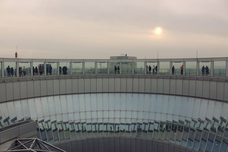 Osaka Sky Garden, the floating garden observatory is undoubtedly the most extraordinary place to see Osaka from above.