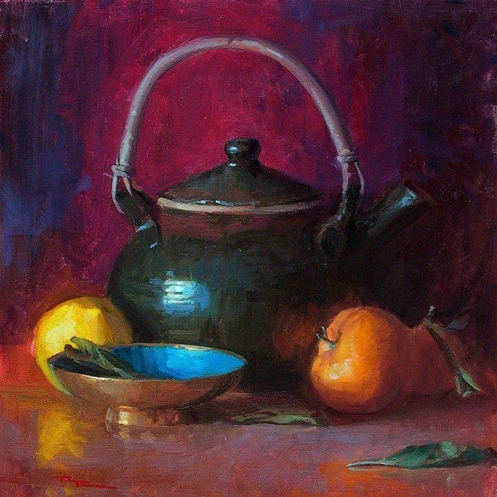 Tutt'Art@   Pittura * Scultura * Poesia * Musica  : Quang Ho, 1963 ~ Impressionist Still life