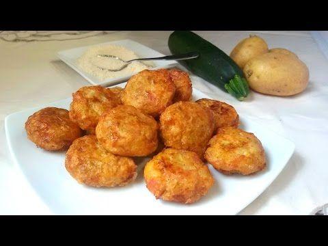 Bombas de patata y parmesano - Cocina familiar