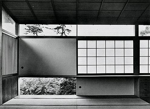 Kenzo Tange (Japanese 1913 – 2005) | Tange Residence | Tokyo, Japan | 1951-1953: modernist architect had a traditional Japanese home