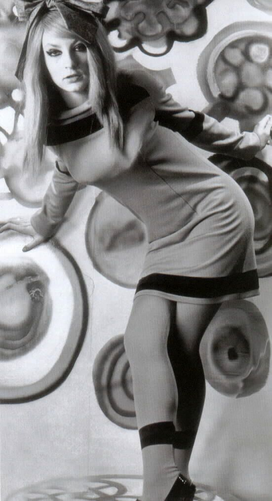 1960's fashion - Marijke Koger in 1966