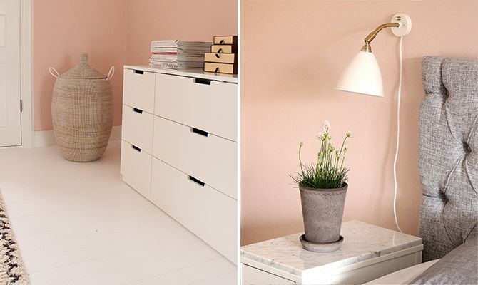 Pink, grey and white fits perfectly together. The pink colour is Alcro Balett.