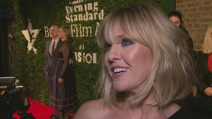 Ashley Jensen talks about stripping for Colin Farrell