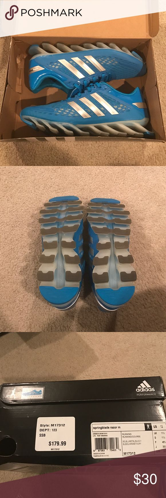 Adidas Springblade Razor Worn once, very comfy. Adidas Shoes Sneakers