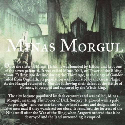 Ruins of Middle-earth: Minas Morgul