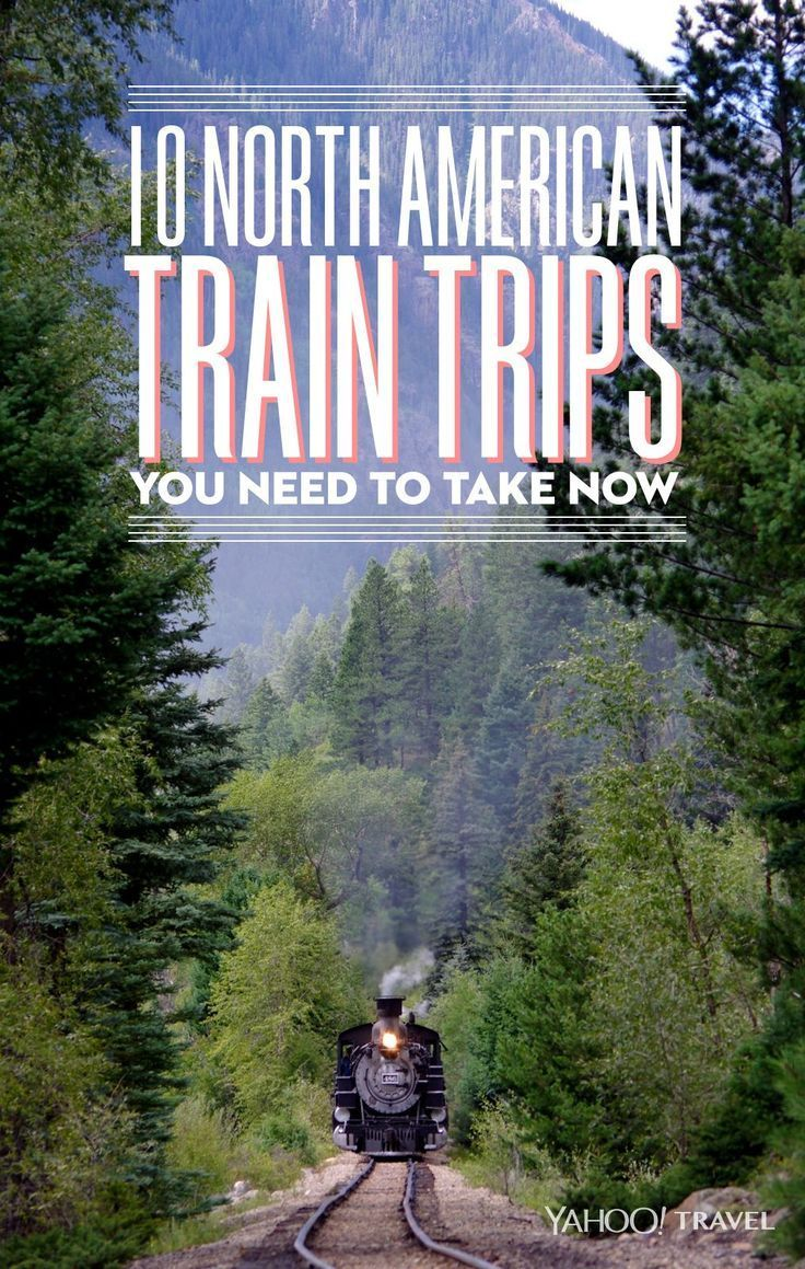 Not sure what train trip to take first? Try these most-searched North American train voyages on Yahoo. They're all worthy of an add to your travel bucket list.