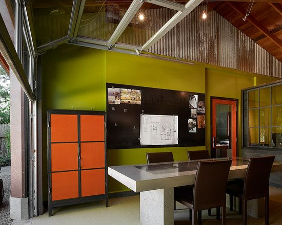 Home Office Modern Industrial
