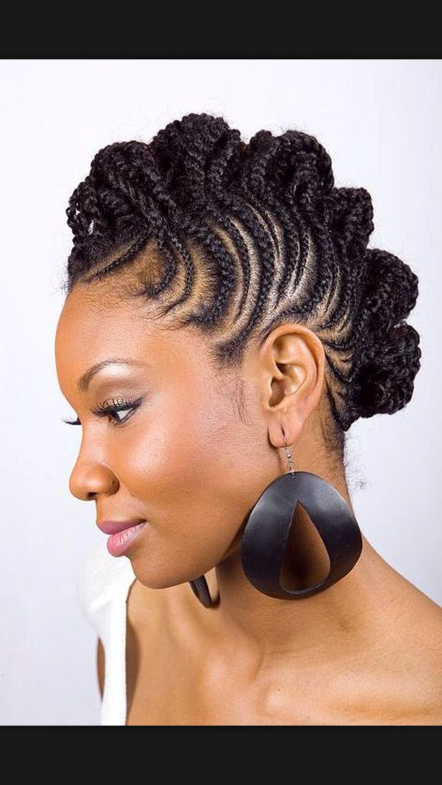Mohawk Hairstyles For Black Women Have A Fun Day With The Latest Hottest Trendy African American