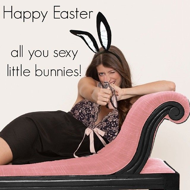 Have a #happy #easter all you #sexy little #bunnies out there! #opheliaking #intimates #instafashion #instacute #lingerie #loungewear #photoshoot
