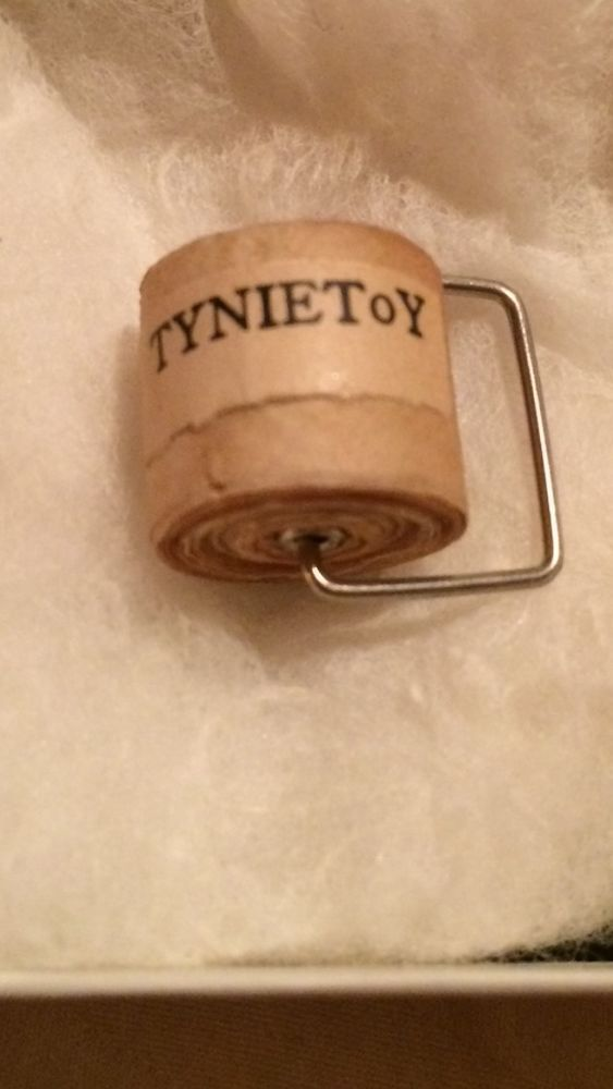Vintage Miniature Toilet Paper Roll Tynie Toy Dollhouse Furniture