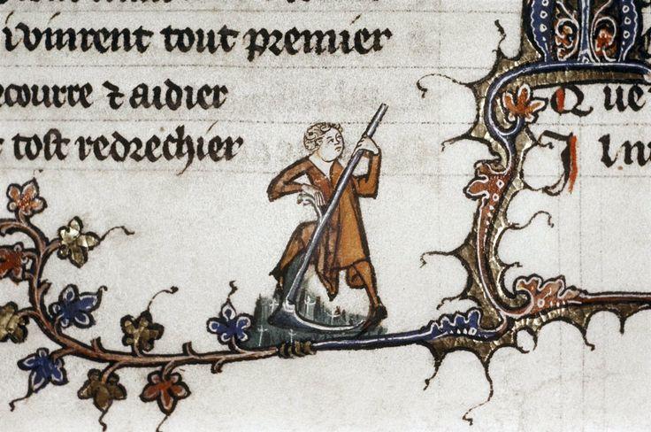 Вернуться к работе Back to work #mondaymotivation (Oxford, Bodleian Library, MS Douce 264, f.35v)