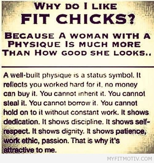 This makes sense. Another reason to be fit!