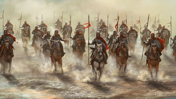 Cavalrymen by Skaya3000 on DeviantArt