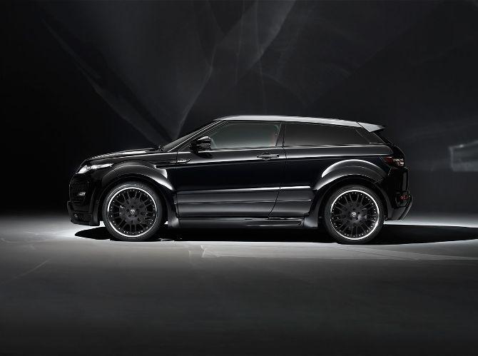 Range Rover Evoque Black Chrome Wheels