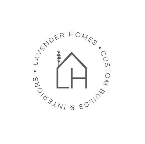 Lavender Homes logo by 21B Creative