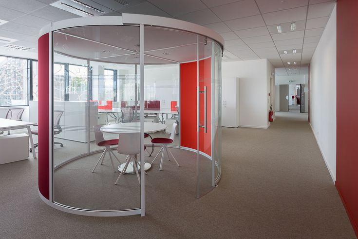 Aménagement design - bureaux open space, salles de réunion...