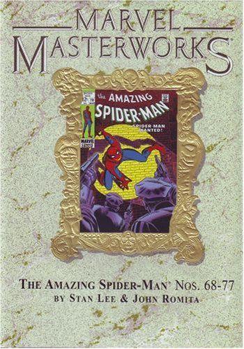 Marvel Masterworks Vol. 67 the Amazing Spider-man Ltd. Ed. Marble Variant @ niftywarehouse.com #NiftyWarehouse #Spiderman #Marvel #ComicBooks #TheAvengers #Avengers #Comics