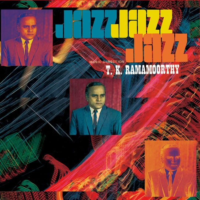 T.K. Ramamoorthy - Fabulous Notes and Beats of the Indian Carnatic-Jazz: From the Japanese EM Records reissue label that treated us in the past with various border-crossing obscurities in genres combining experimental, jazz, drone, dub, avant-garde or ethnic music, comes this rare and sophisticated hybrid of traditional Southern Indian Carnatic music and Western jazz, initially out in 1969.